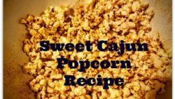 Sweet Cajun Popcorn Recipe