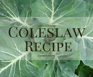 creamy coleslaw recipe