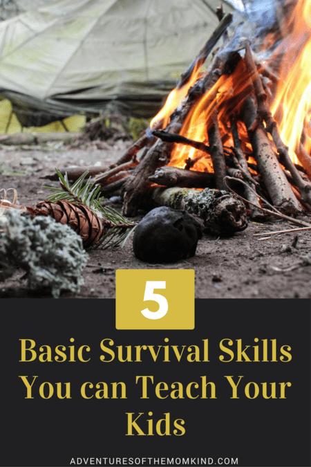 5 Basic Military Survival Skills to teach your children