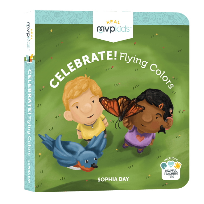 Celebrate Flying Colors (toddlers) learn about butterflies and birds with all the beautiful colors
