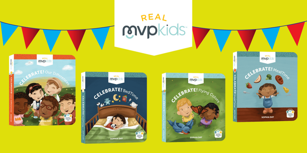 Real MVP Kids Books books-  Perfect for toddlers of all abilities