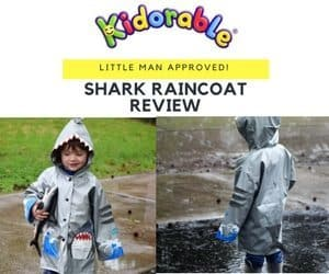 Shark Raincoat Kidorable Product Review