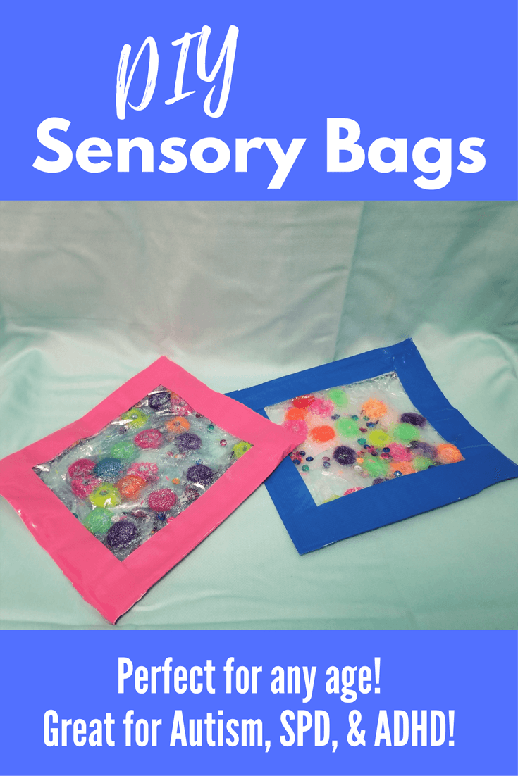 DIY Sensory Bags | Calming Squish bags for Autism, SPD, & ADHD