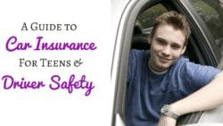 Is your teen a new driver? Read this guide if you're worried about how their safety and how it will affect your car insurance rates.