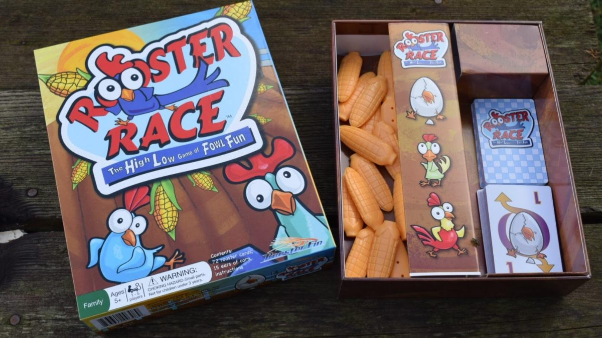 Rooster Race~ The High Low Game of Fowl Fun | Check out the hilarious fun game that is fit for the whole family. Ages 5+ & 1-5 Players