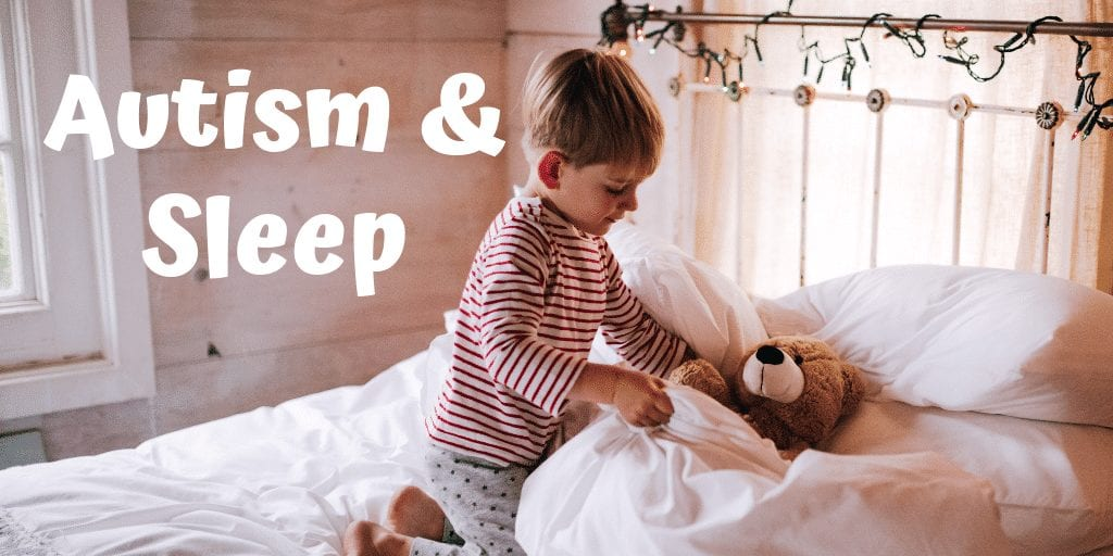 Autism and sleep problems advice: Sleep problems are common amongst autistic children. This leaves many parents asking How to Get an Autistic Child to Sleep #autism #autismparenting #autismsleep #autistic #sleepdisorders #parentingadvice