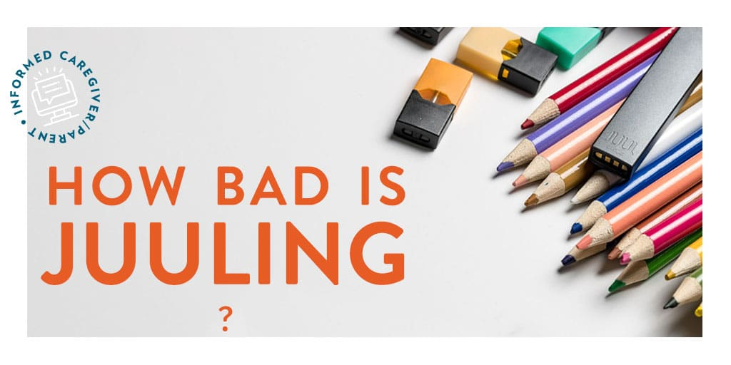 What is Juuling? Teen use of E-cigaretes is on the Rise. Juuling is a new term for vaping, but does specifically refer to the use of JUUL e-cigaretes. Designed to resemble to USB drives can be easily hidden #juuling #parentingteens
