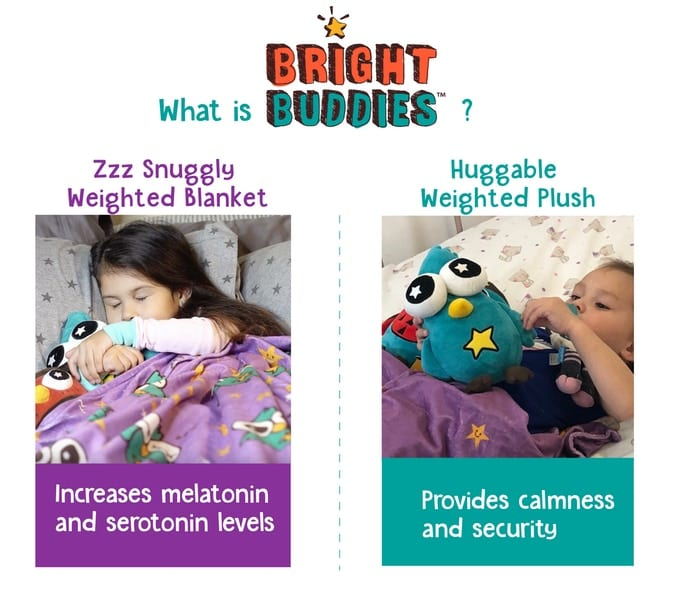 Bright Buddies An Adorable Weighted Blanket Amp Plush For