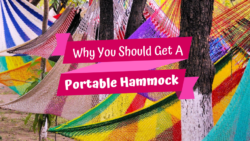 Have you ever been on a camping trip and realized how amazing it would be to have hammock with you? Me too! That's just one of the awesome reasons why to invest in a portable hammock! Check out these other great reasons to get your swing on! #camping #travel #hammocklife