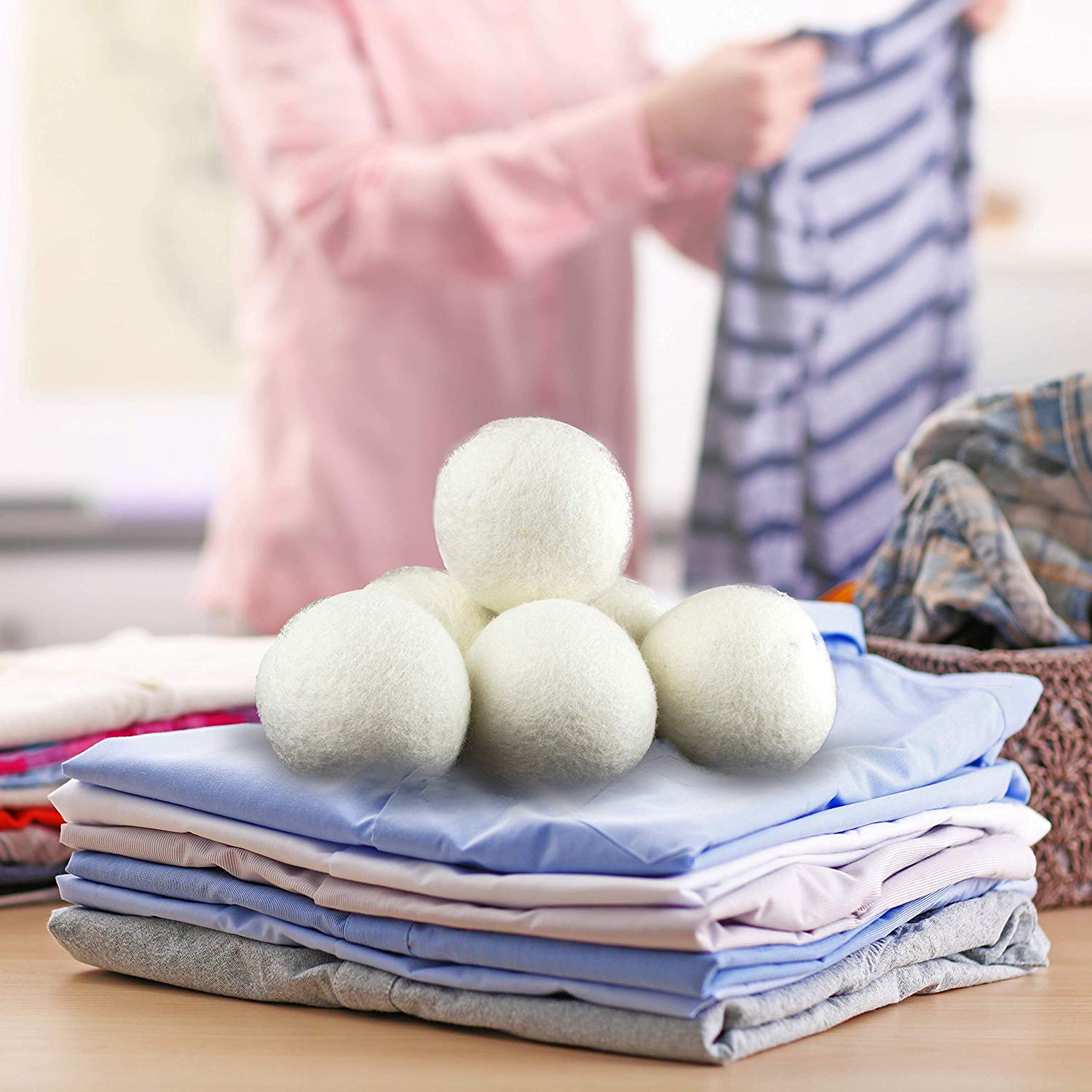 Image of Wool Dryer balls for Saving Money on Laundry