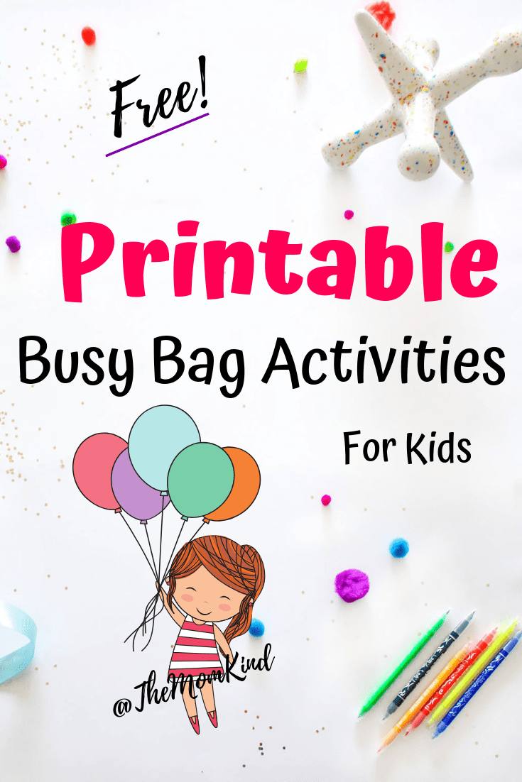 Keeping your small child entertained can be quite the feat. Whether you're spending a rainy day inside or sitting at a restaurant, it's always nice to have some tricks up your sleeve — or, rather, in your bag.  These busy bags will keep your toddler or preschooler quietly entertained. What's more, they will develop their problem-solving abilities and fine motor skills. You'll get a breather while your little one is amused and learning. It doesn't get any better than that!