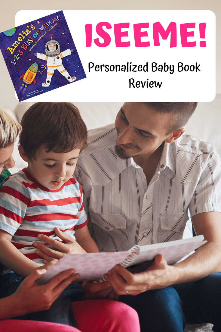 ISEEME Personalized Books for Children is such a great gift idea!  We got one and we are in love! Check out this post to hear all about it!