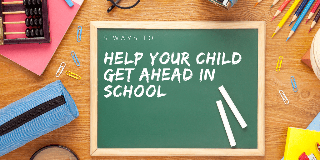 Education is so important, but sometimes we don't know how to help our children be truly successful Check out these 5 ways to help your child get ahead in school and off to the right start!