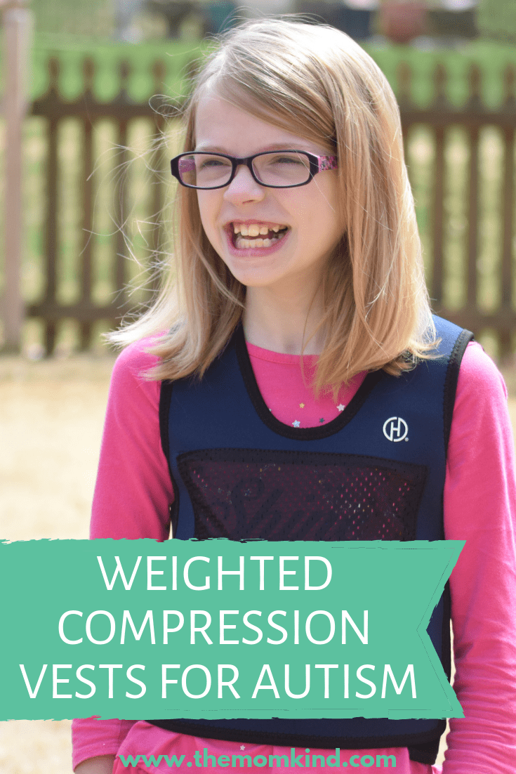 One of the best ways to administer proprioceptive feedback to an individual with special needs is through weighted or compression items.  Perfect for children with Autism, ADHD, and other Sensory Needs.  Find out more about this awesome weighted compression vest, the perfect sensory integration tool!