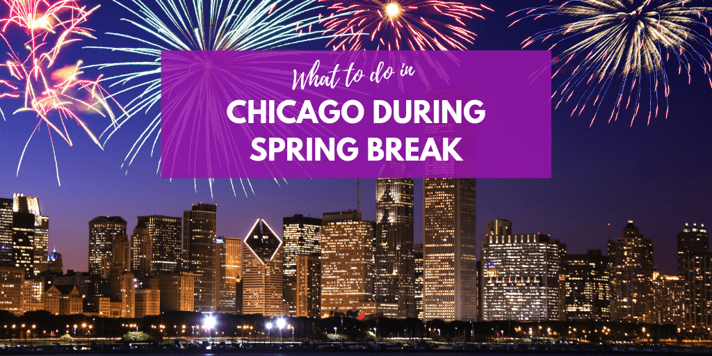 Spring Break in Chicago- Chicago is known for being one of America's most cosmopolitan cities, but it's not all modern art museums and Michelin-starred restaurants. This is the perfect setting for some great activities during Spring Break in Chicago!