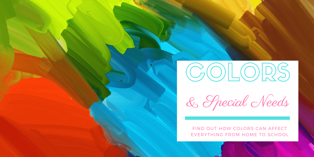 Color is one of the primary concepts we learn, and we use color to convey emotion, messages, and meaning. Learn how different colors affect individuals with special needs such as autism & AHDD, both for the good and the negative.