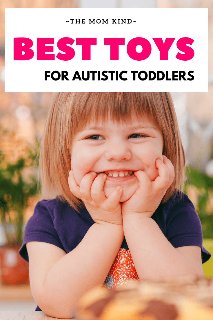 Trying to find the right toys for your child with autism can be tough! Check out out list of the best toys for autistic toddlers to both learn from and enjoy! #autismawareness #autismparenting