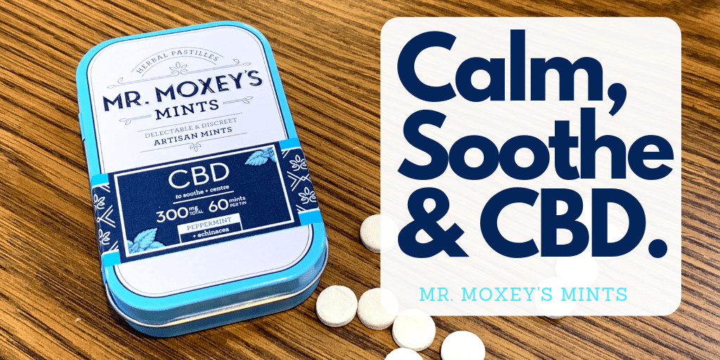 Mr. Moxey's Mints in Calming Peppermint are perfect for maintaining balance in mind and body. These restorative CBD peppermint mints are enriched with Indian gooseberry, which is said to support rejuvenation and echinacea to boost your immune system.