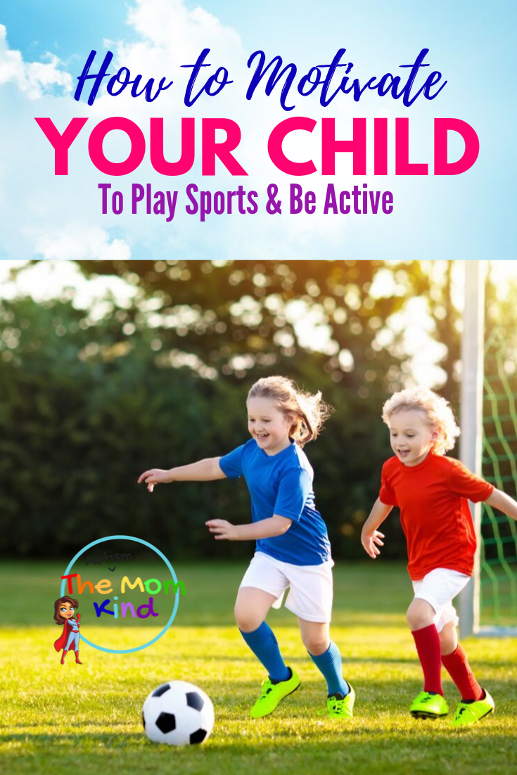 Doctors recommend that children should spend at least 60 minutes a day actively playing. Find out how to motivate your child to love a sport! #parenting #beactive #health