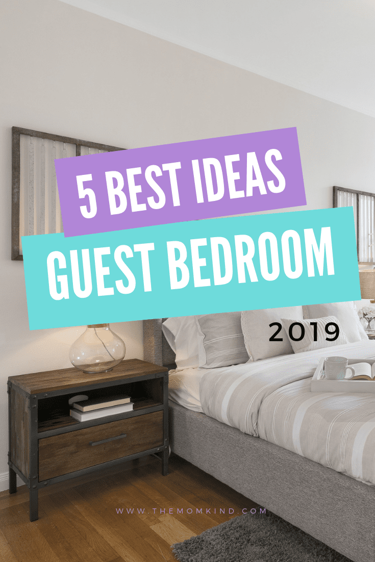 If you have a regular turnover of friends and family staying over, then having an amazing guest bedroom is a great idea, let's decorate! #homedecor #homedecorating
