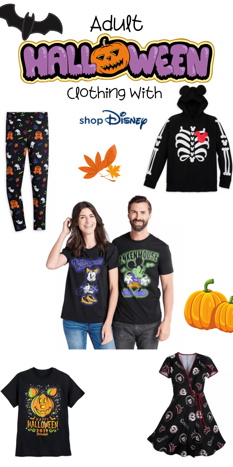 Here are the best in Disney Halloween Clothing for Adults & Teens. This fantastic post rounds up the spooky and adorableness of ShopDisney's Halloween Collection for 2019.  #ad @ShopDisney #halloween2019 #disney #disneylove #disneymagic #waltdisney #disneyprincess #mickeymouse #disneyphoto #disneylife #disneyfan #mickey #disneyaddict #disnerd #starwars #halloween