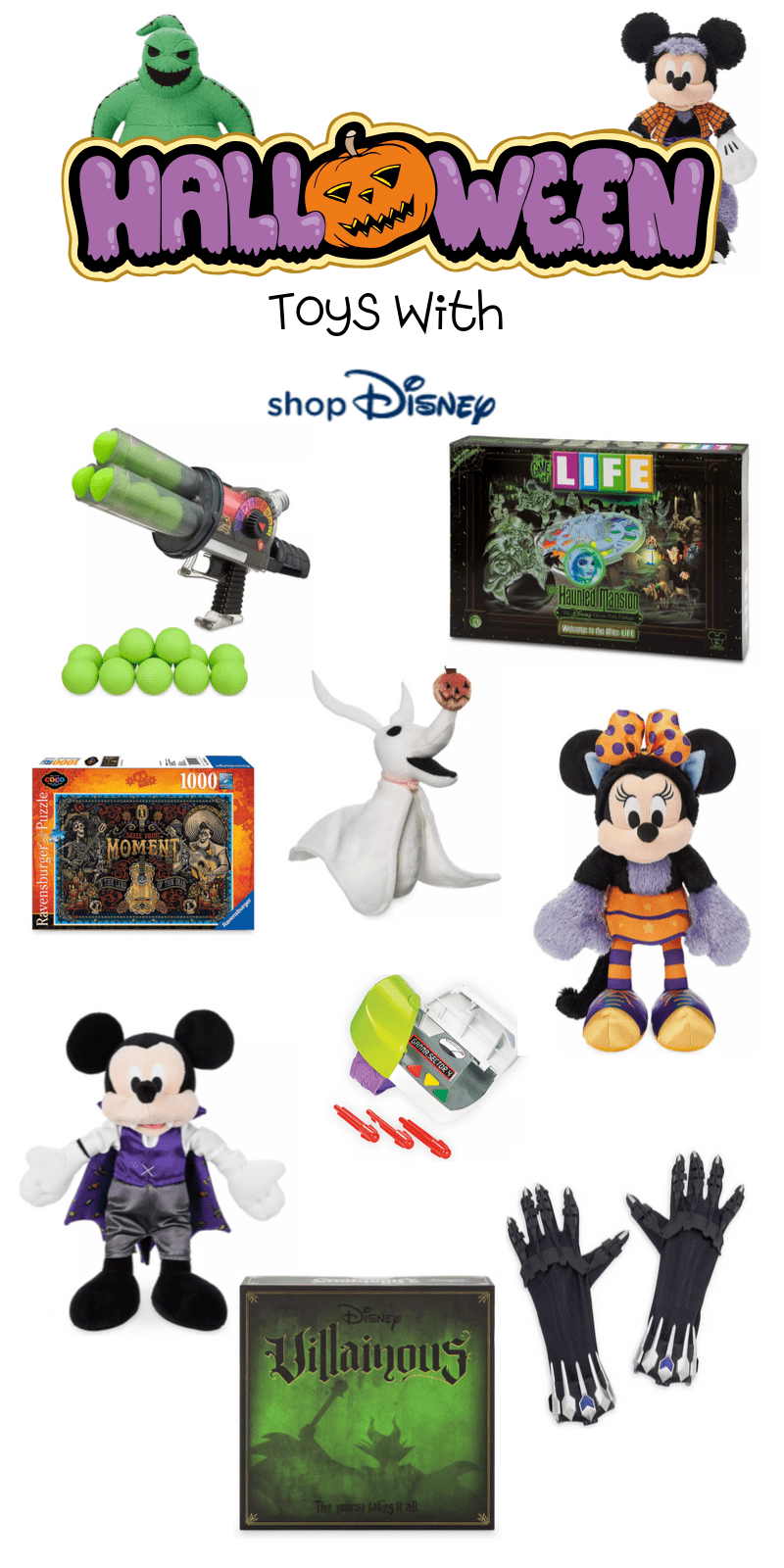 Here are the best in Disney Halloween Inspired Toys & Game This fantastic post rounds up the spooky and adorableness of ShopDisney's Halloween Collection for 2019.  #ad @ShopDisney #halloween2019 #disney #disneylove #disneymagic #waltdisney #disneyprincess #mickeymouse #disneyphoto #disneylife #disneyfan #mickey #disneyaddict #disnerd #starwars #halloween