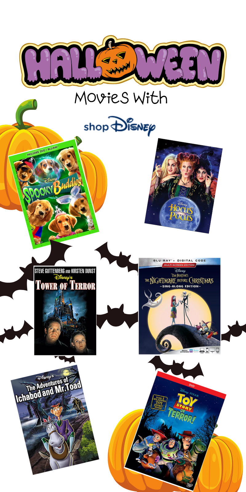 Here are the best in Disney Halloween Movies for the whole family. This fantastic post rounds up the spooky and adorableness of ShopDisney's Halloween Collection for 2019.  #ad @ShopDisney #halloween2019 #disney #disneylove #disneymagic #waltdisney #disneyprincess #mickeymouse #disneyphoto #disneylife #disneyfan #mickey #disneyaddict #disnerd #starwars #halloween