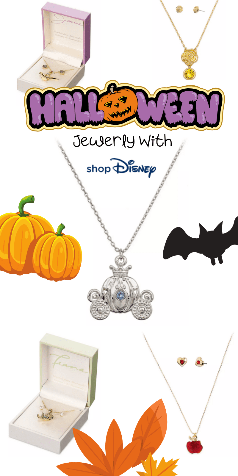 Here are the best in Disney Halloween Jewelry. This fantastic post rounds up the spooky and adorableness of ShopDisney's Halloween Collection for 2019.  #ad @ShopDisney #halloween2019 #disney #disneylove #disneymagic #waltdisney #disneyprincess #mickeymouse #disneyphoto #disneylife #disneyfan #mickey #disneyaddict #disnerd #starwars #halloween