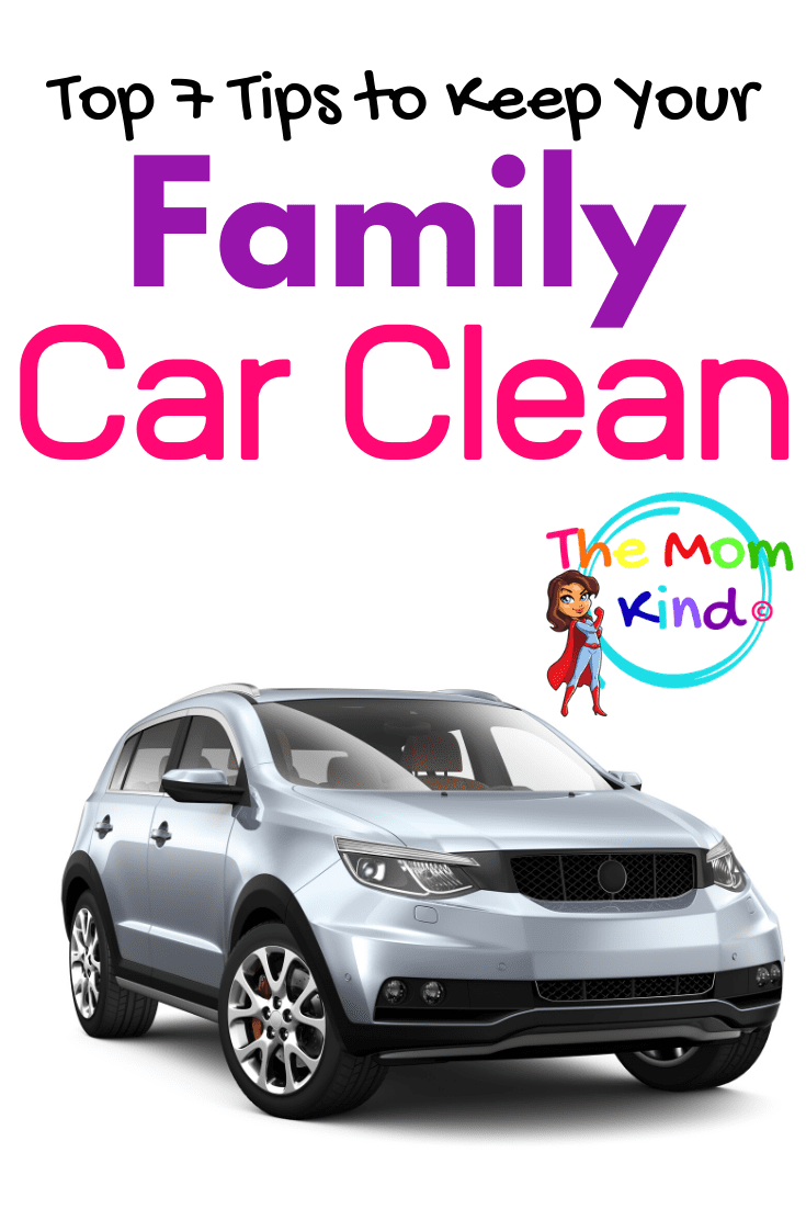 If you are looking for some effective tips to keep your family car looking new, then you have come to the right place.  Check out these top seven tips to keep your vehicle looking in tip-top shape!  #cartips #familycar #vehiclemaintenance
