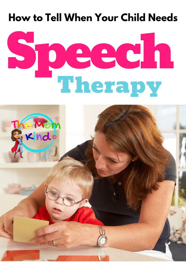 Sometimes, it is hard to know how to tell if your child needs speech therapy.  Learn how to determine if your child may have a speech delay.  #speechdelay #speechdisorder #slp #speechlangauagedisorder