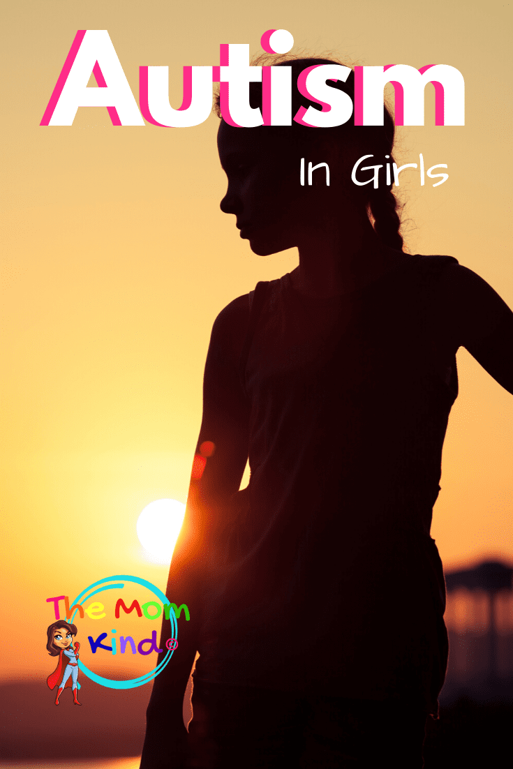 Symptoms of Autism in Girls: New research suggests that current diagnostic methods overlook girls, and this has been our experience with three girls on the spectrum in one family.  Learn how autism presents differently in girls, and why many autistic women & girls go misdiagnosed for years due to the lack of real awareness #autism #autismingirls #autismparenting #asd