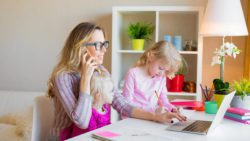 Are you looking to become a SAHM or WAHM but need some financial advice for stay at home moms? Check out these great tips! #wahm, #sahm #finances #financialfreedom #freelance #sidehustle #parenting #momlife