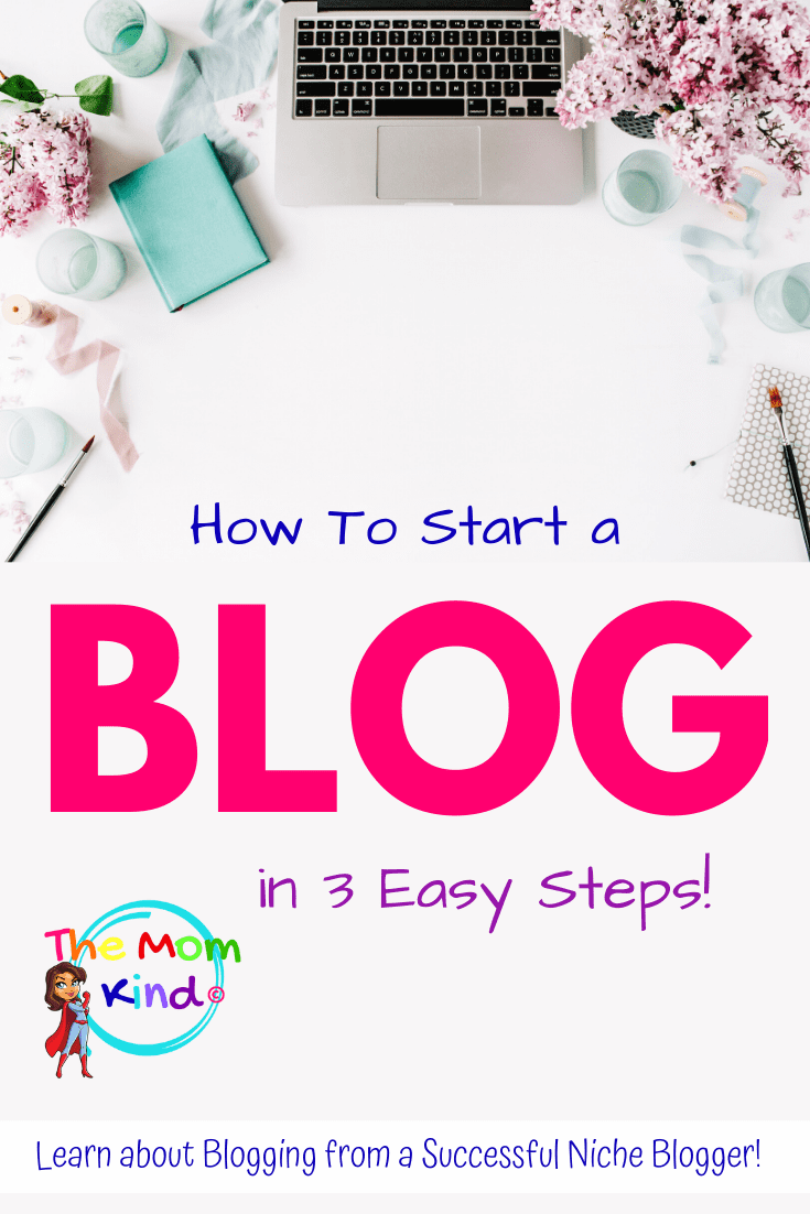 Want to know how to start a blog in 3 easy steps? Check out our through, but easy guide to get your new blog up and running fast!  #wahm #momblogger #blogging #sahm  #bloggingfulltime