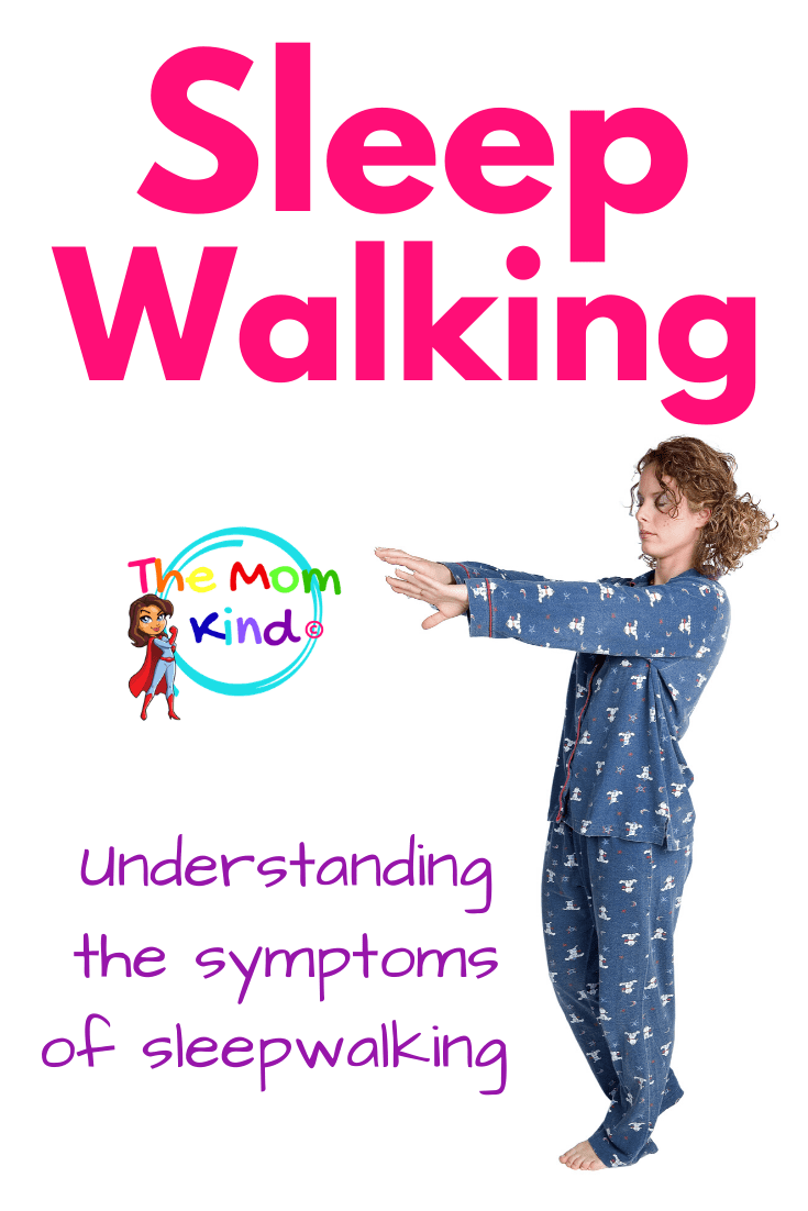 Sleepwalking is much more common with children than with adults and with people who are sleep deprived. Learn the symptoms of sleepwalking #sleepdisorders #sleepwalking #parentingtips #healthcare